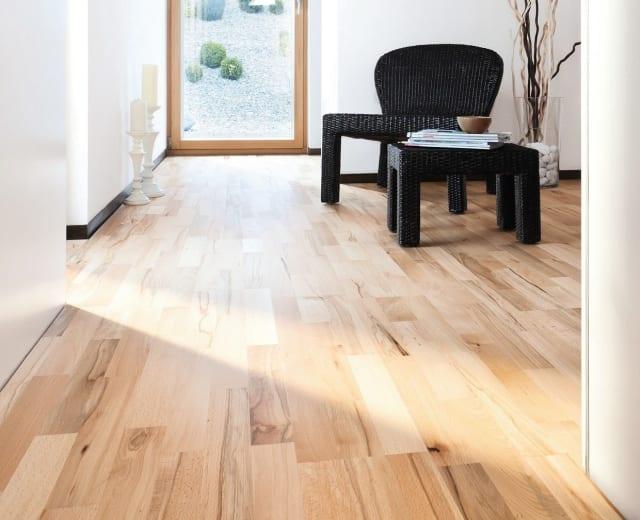 3 Strip Steamed Beech Engineered Hardwood Flooring