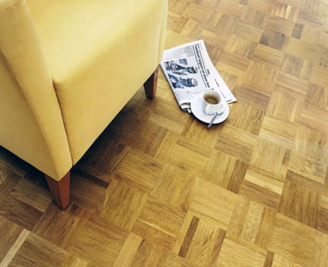 Oak Prime-Natural 5 Finger Mosaic Parquet