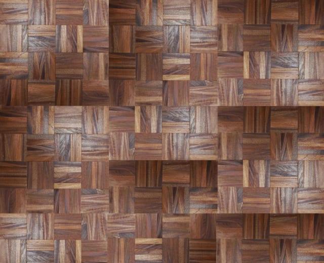 Mahogany (Sapele) 5 Finger Mosaic Parquet