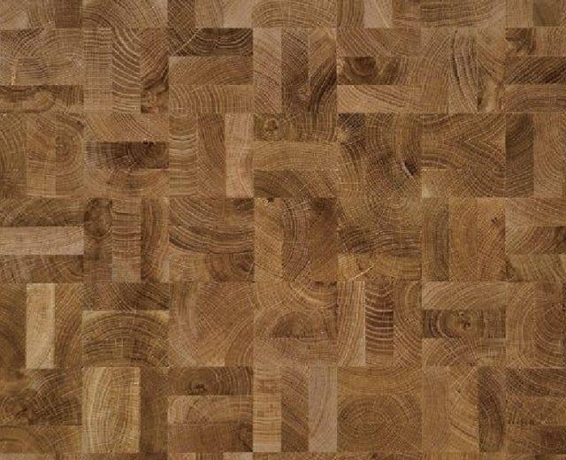 End Grain Oak Prime 3 Block Mosaic Parquet Flooring