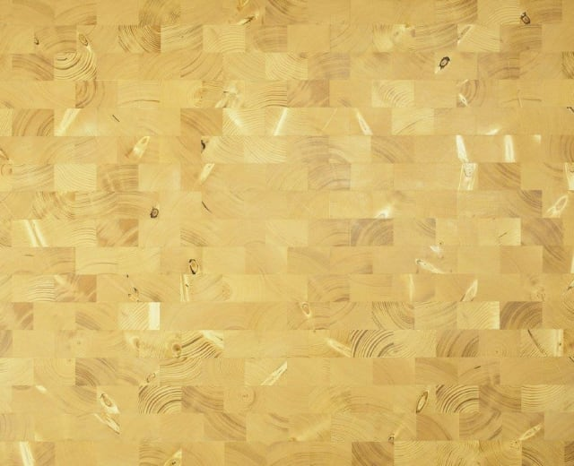 Spruce End Grain Natural Block Parquet Flooring