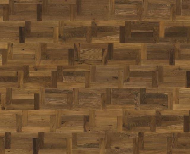 Veneto Castle Fumed Oak Brushed Oil Engineered Venetian Parquet
