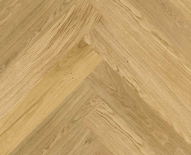 Natural Oak Herringbone Prime Engineered Parquet Click Block
