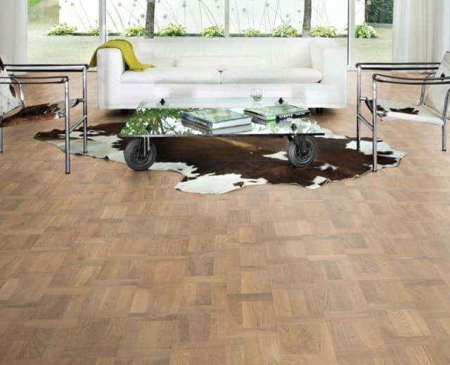 Titanium Oak Dutch Patterned Parquet Flooring