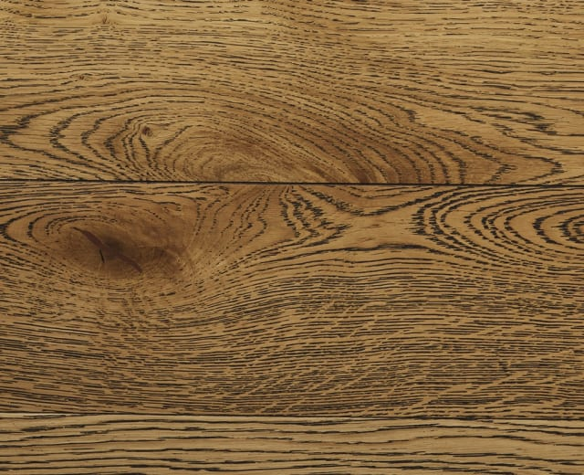 Rustic Oak Oiled Black Washed Herringbone Engineered Parquet Block