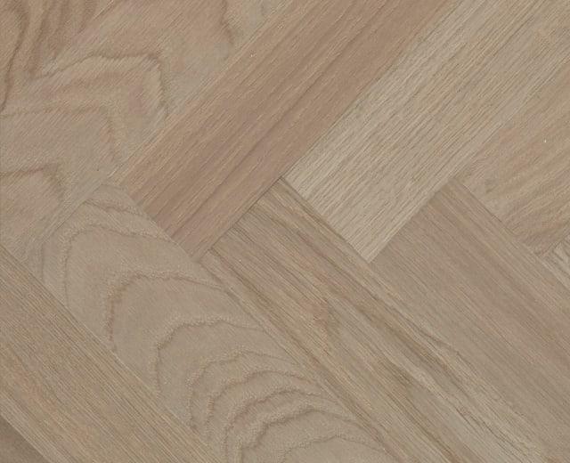 Oxford Grey Oak Herringbone Parquet Hardwood Floor