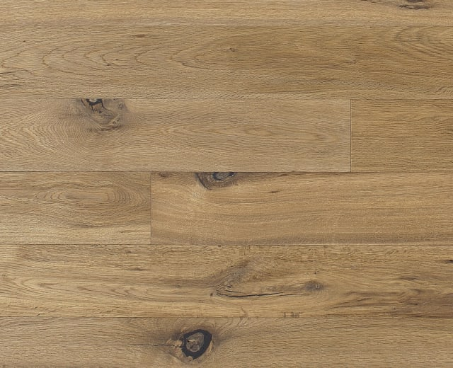 Crater Light Smoked Oak Brushed Oiled Hand scraped Hardwood Engineered Wood Flooring