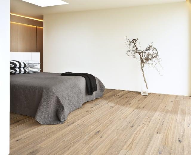 Trench Oak Brushed Oiled Hand Scraped Engineered Wood Flooring