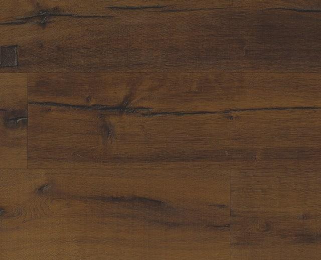 Amsberg Cabin Dark Smoked Oak Brushed Oil Hand Scraped Hardwood Engineered Wood Flooring