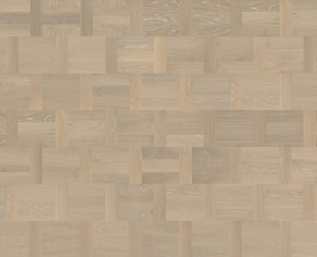 Blanc Oak Dutch Patterned Parquet Flooring