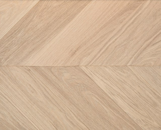 Vyborg Oak Brushed & Natural Oil Chevron Parquet Flooring