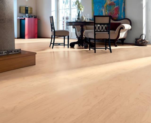 Canadian Maple Single Plank Engineered Hardwood Flooring
