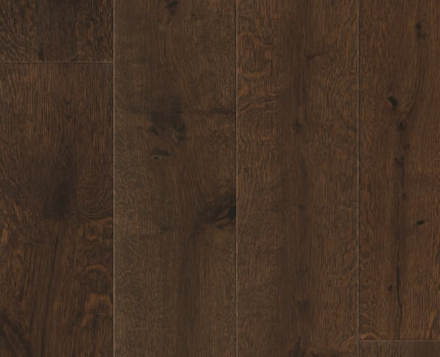 Chocolate Oak Brushed Brushed Lacquered Engineered Hardwood