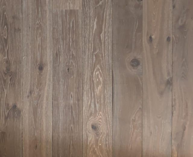 Alpine Forest Smoked Oak Brushed White Oiled 190mm Engineered Hardwood Flooring
