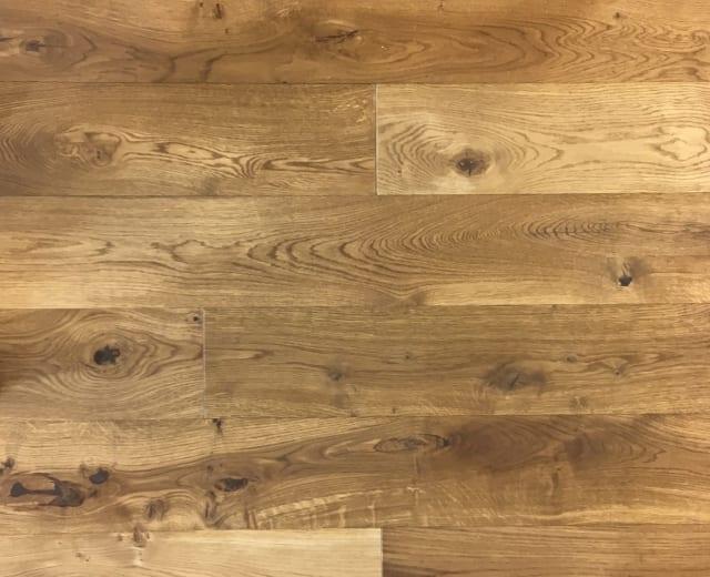 Smoked Forest Oak Brushed UV-Oiled 185mm Engineered Hardwood Flooring