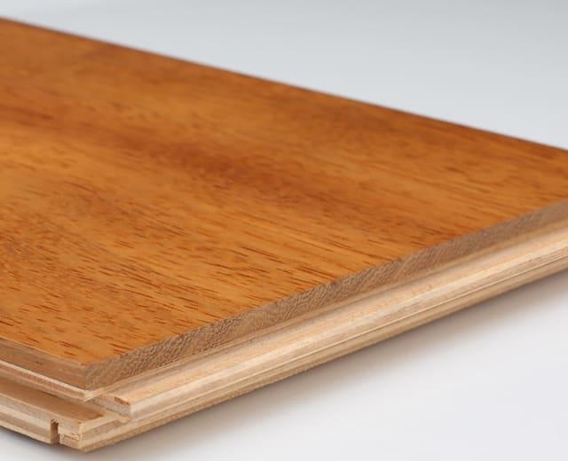 Iroko 90mm Lacquered Engineered Hardwood Flooring