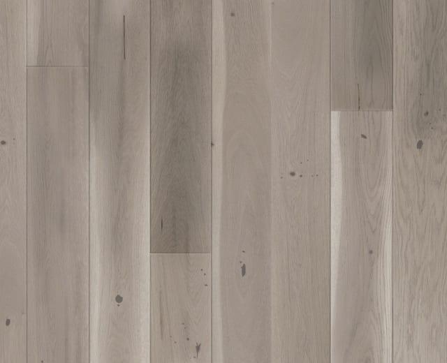 Aosta Oak Grey Wash Brushed Lacquered Engineered Hardwood Flooring