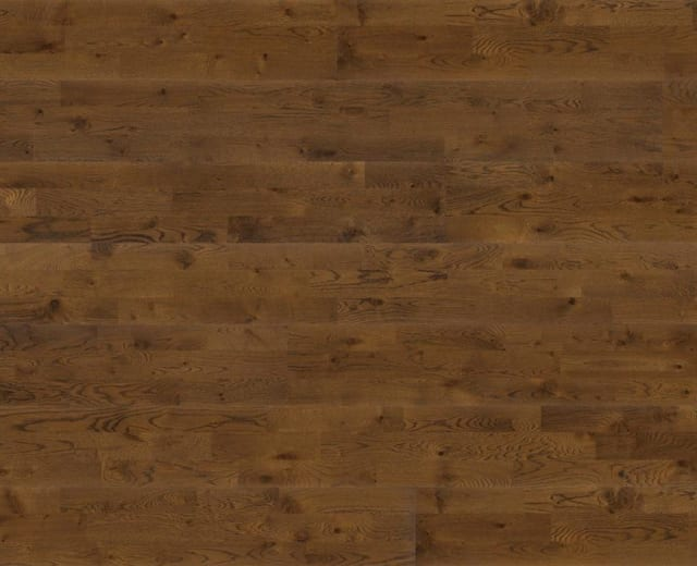 3 Strip Golden Oak Brushed Lacquered Engineered Hardwood Flooring