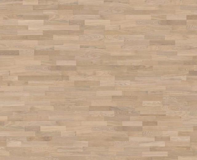 3 Strip Ice-White Stained Oak Oiled Engineered Hardwood Flooring