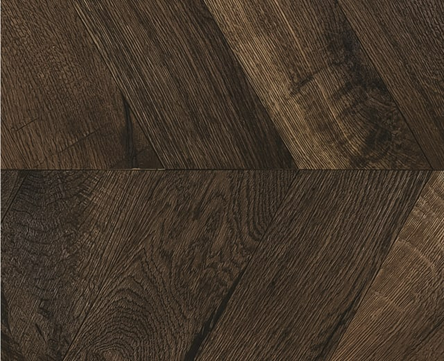 Whitechapel Heavy Smoked Oak Natural Oiled Reclaimed Chevron Engineered Hardwood Flooring