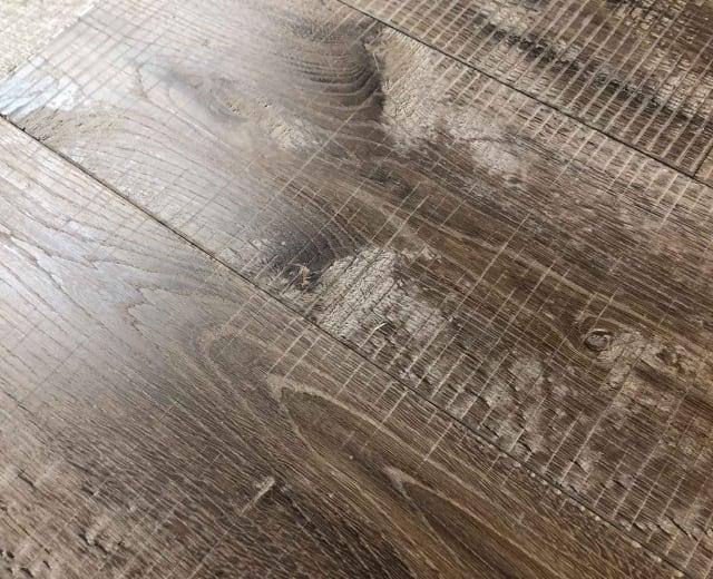 Plitvice Sawmill Extra Smoked Oak Dual Width Hardwax Oiled Hardwood Flooring