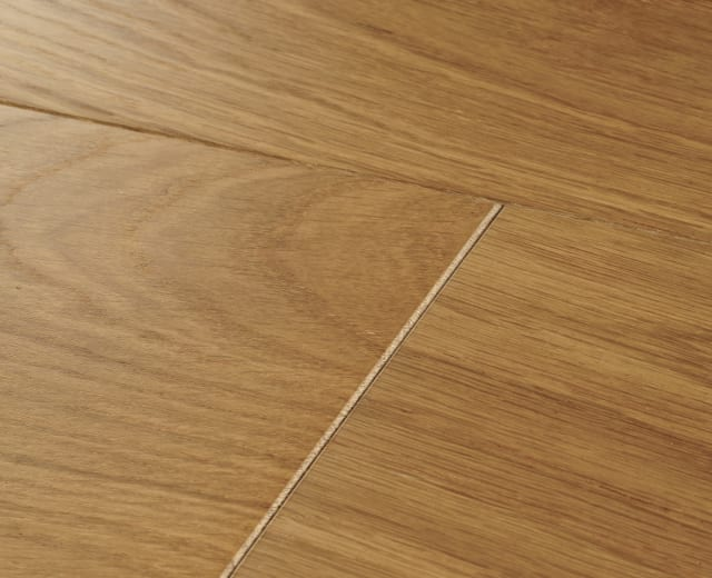 Caledonian Oak Brushed Lacquered 240mm Hardwood Flooring