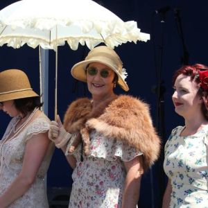 The Metropolitan Club will present the Looking Good Costume Competition at the Whanganui Vintage Weekend Mainstreet Caboodle. Photo / Sally Jane Smith.