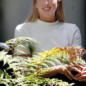 Former WHS student Hannah Kelly.