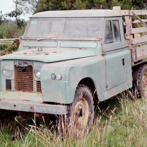 The Land Rover was used on a Waitotara farm. Photo / Bevan Conley.