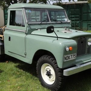 The Land Rover was finished and ready to drive in December 2020. Photo / Bevan Conley.
