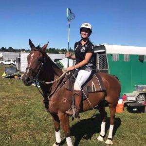 Year 12 student Lauren Phillips was selected in the NZ polocrosse Junior U16 team, was a recipient of the NZ Polocrosse Junior U16 Scholarship to NSW or QLD Australia and was named in the NZ Polocrosse Junior U16 Tournament Team. Photo / Supplied.