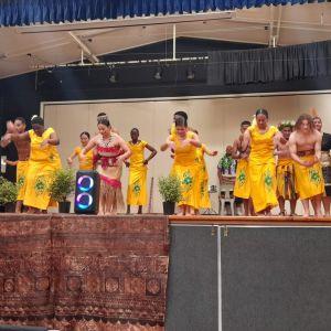Samoan dance (photo taken Fiafia night).