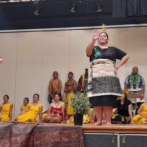 Tongan dance (photo taken Fiafia night).