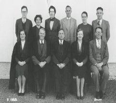 1958 Staff