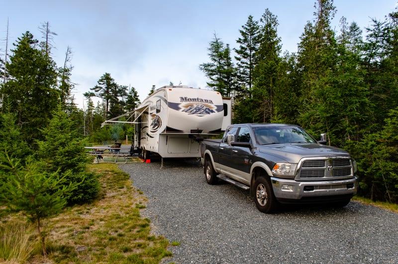 schoodic woods campsite