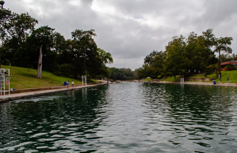 the pool at barton springs