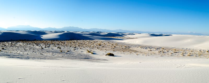 a panoramic view of the dunes