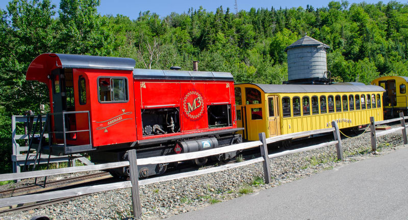 Cog railway train