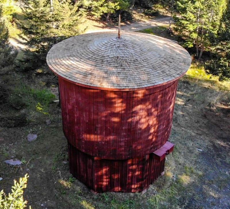 water tower in elkhorn montana
