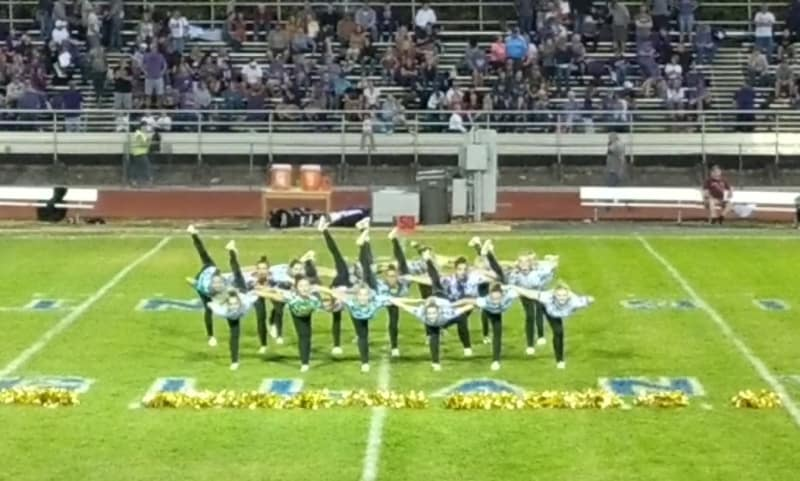 my cousin performs at halftime