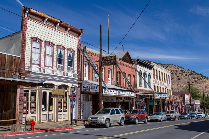main street in virginia city