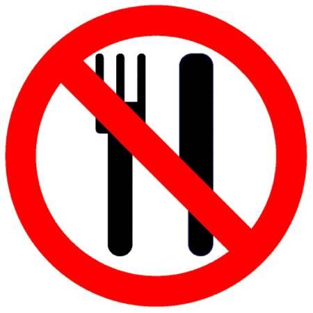 Essen verboten