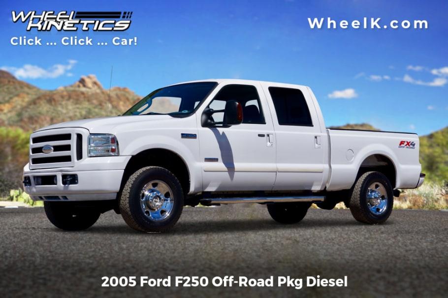 2005 Ford F250 Off Road Pkg Diesel For Sale At Wheel Kinetics