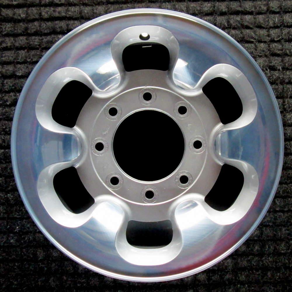 Ford F-250  Polished 16 inch OEM Wheel  1999-2000 F81Z1007AA F81Z1007MA