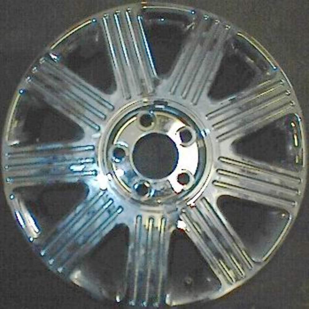 Lincoln Town Car 17 Oem Chrome Wheel 2003 2005 3w1z1007ca 4w1z1007aa