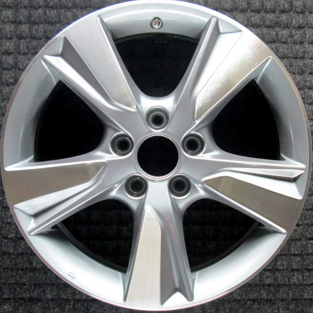 Acura ILX Machined 17 Inch OEM Wheel 2013 To 2015