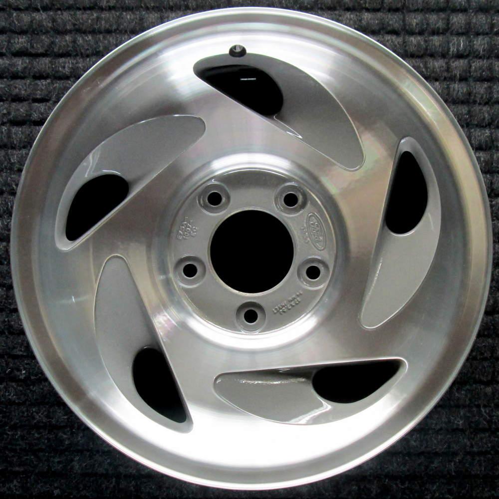 "Car Dealerships In San Antonio Tx >> Ford F-150 17"" Machined w/ Natural Pockets OEM Wheel 1997-2000 F75Z1007EB F75Z1007EC"