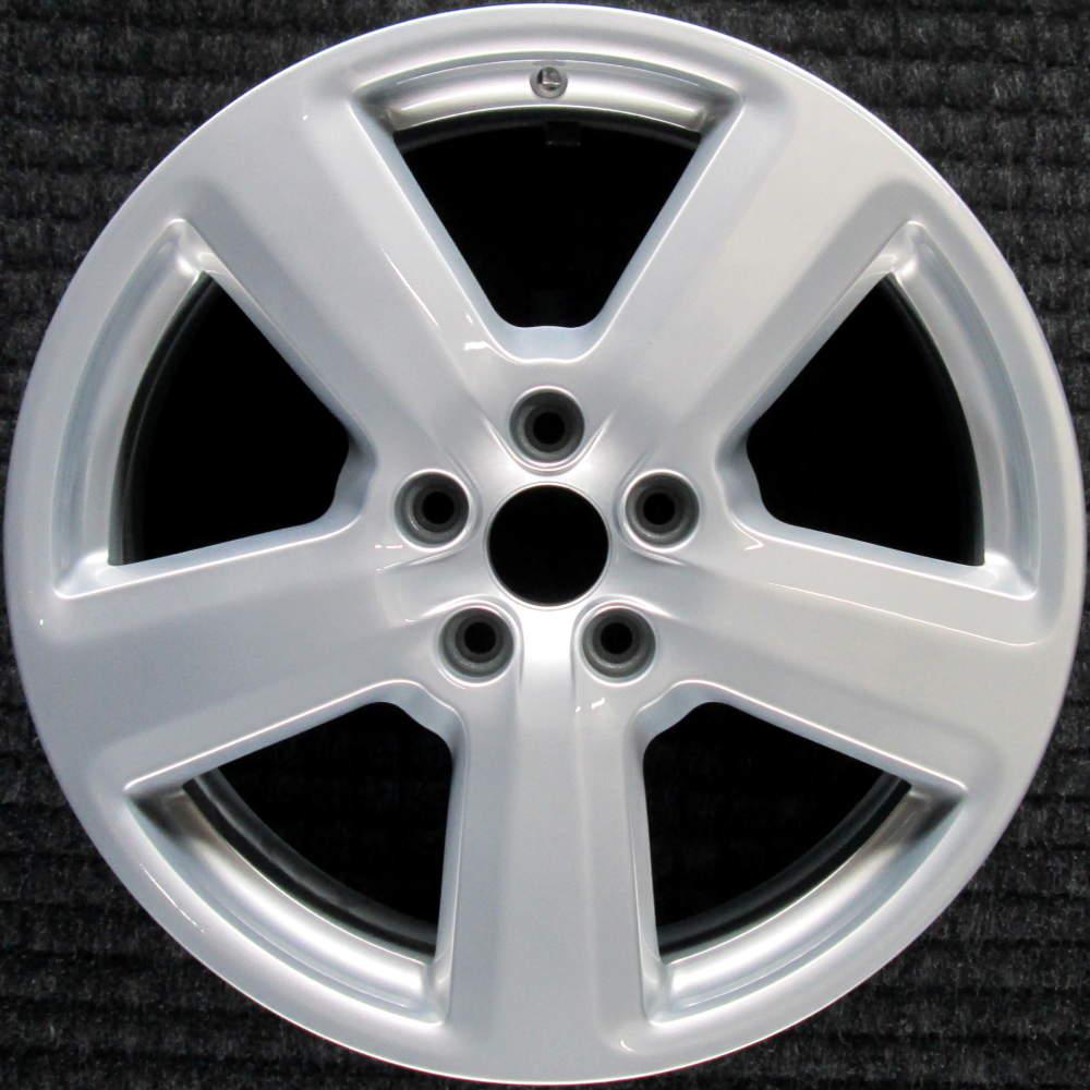 """Audi A6 18"""" All Silver OEM Wheel 2005-2011 8E0601025AK"""