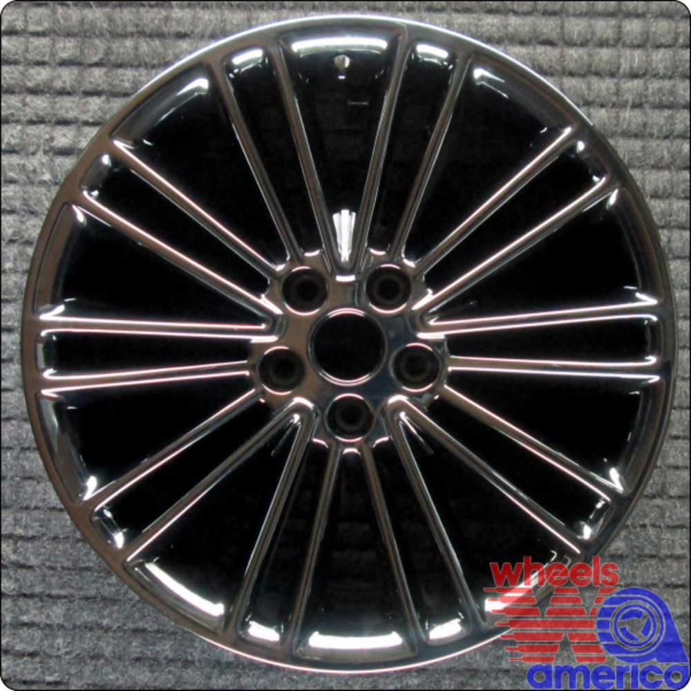 "Ford Fusion 18"" PVD Black Diamond Chrome OEM Chrome Wheel"