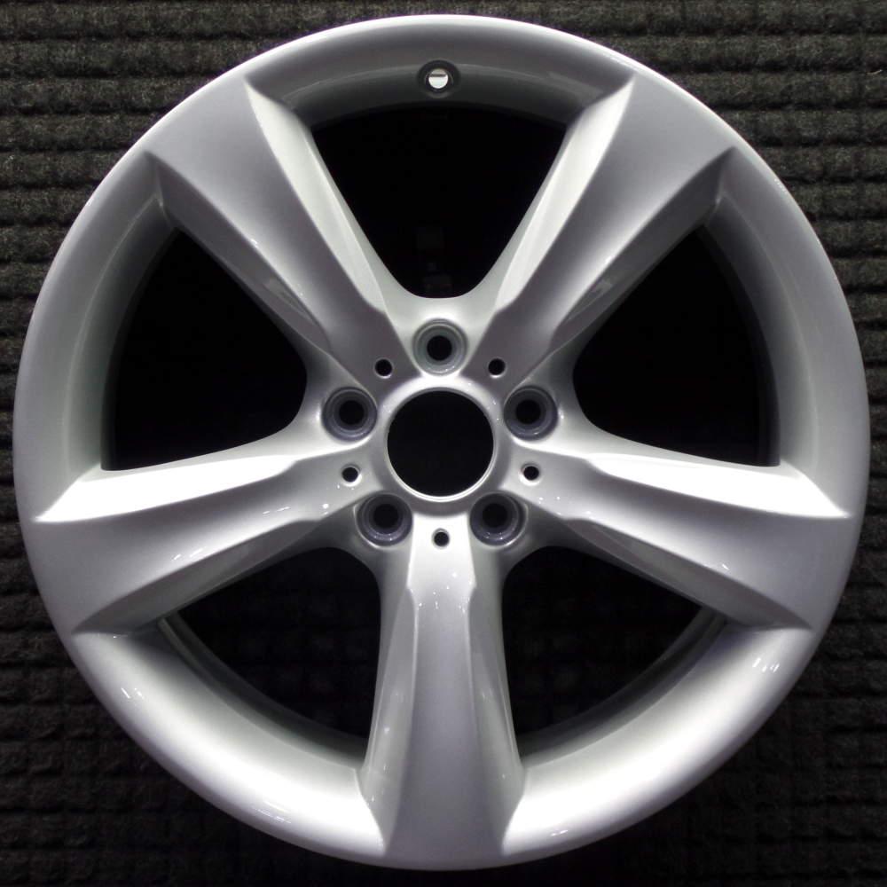 """BMW X4 19"""" All Silver OEM Wheel 2015-2018 36116862887"""